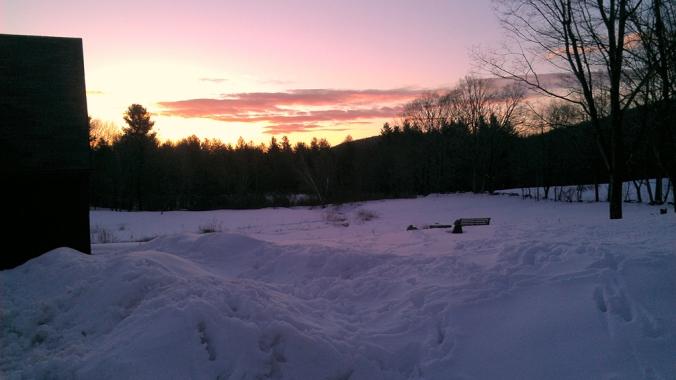 Sunrise 130327