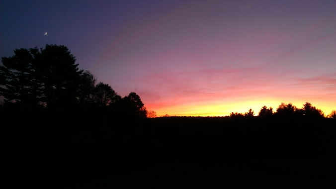 131008 Sunset in Brimfield
