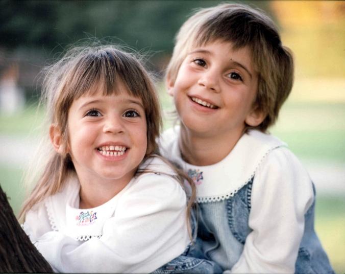 Cait & Amanda in tree