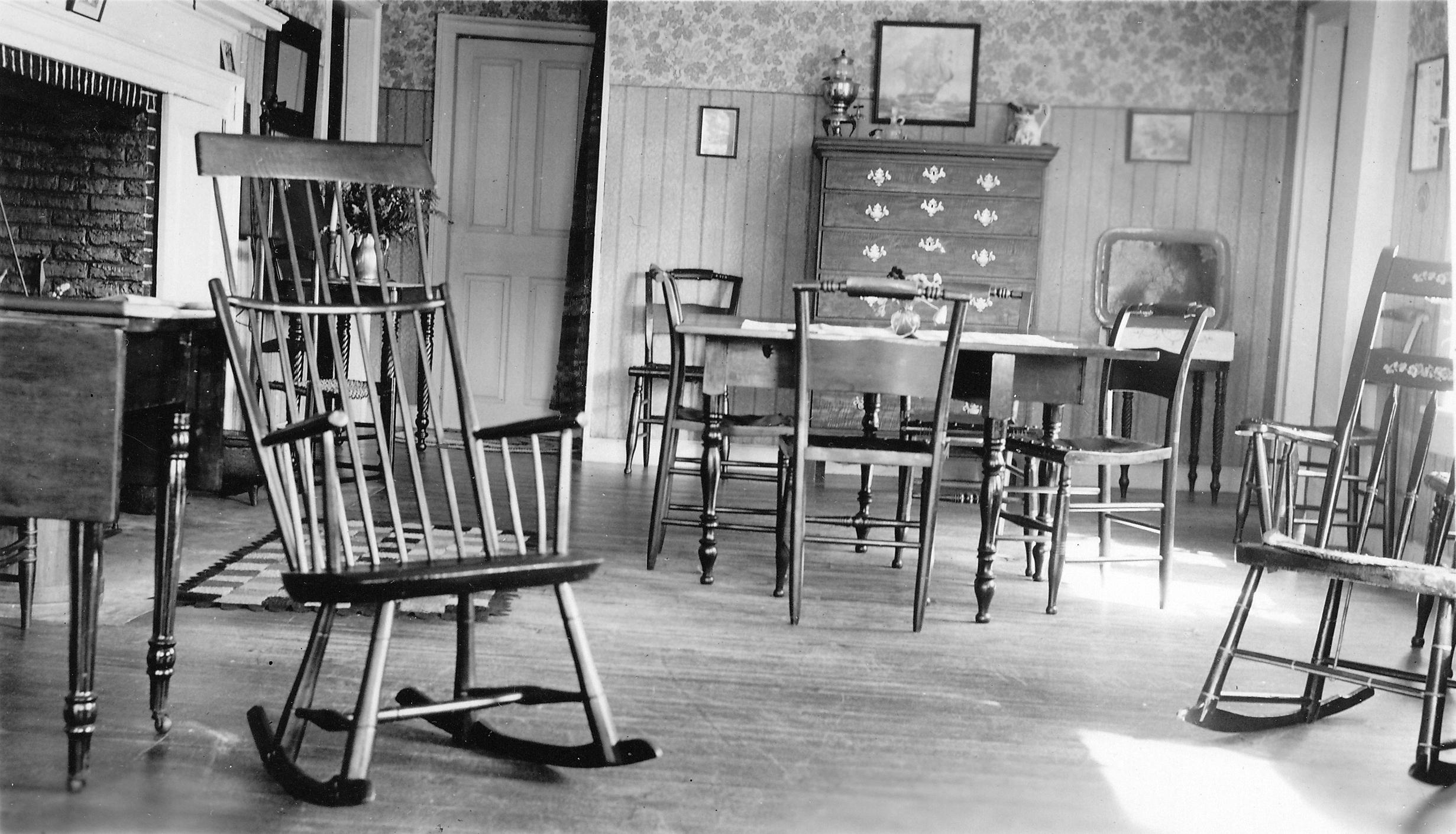 Dining Room At Fort Pelham Farm 1930u0027s (7)
