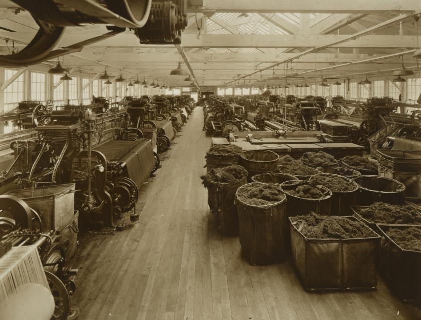 Charlton Woolen Weave Room